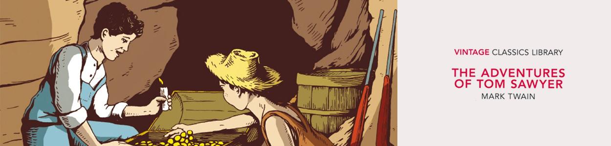 Vintage Classics- The Adventures of Tom Sawyer