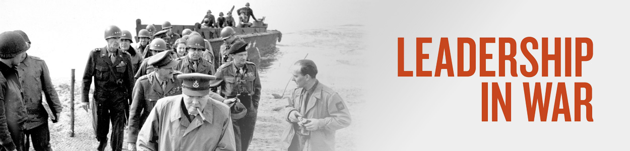 Fiction History - Leadership in War